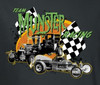 Image Closeup for The Munsters Team Munsters Racing Youth T-Shirt