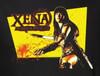 Image Closeup for Xena Warrior Princess Cut Up Woman's T-Shirt