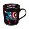 Closeup image 1 for Captain America Jumping Forward Coffee Mug