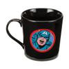 Closeup image 2 for Captain America Jumping Forward Coffee Mug