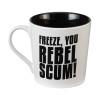 Closeup image 2 for Star Wars Freeze You Rebel Scum Coffee Mug