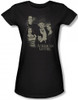 Image for The Munsters American Gothic Girls Shirt