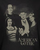 Image Closeup for The Munsters American Gothic Girls Shirt