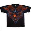 Image Closeup for Dragon Ying Yang T-Shirt