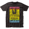 Image for Janis Joplin Freedom Hall Poster T-Shirt