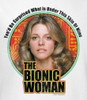 Image Closeup for The Bionic Woman Under My Skin Woman's T-Shirt
