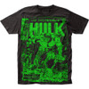 Image for The Hulk T-Shirt - Monster Unleashed Big Print