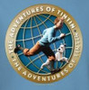 Image Closeup for The Adventures of Tintin Around the Globe T-Shirt