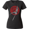 Image for Black Widow Attack! Juniors Crew Neck Shirt