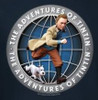 Image for The Adventures of Tintin Globe T-Shirt