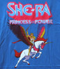 Image Closeup for Masters of the Universe Girls T-Shirt - She-Ra and Swiftwind