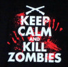 Image for Zombie T-Shirt - Keep Calm and Kill Zombies