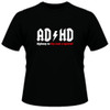 Image Closeup for ADHD Highway to Hey Look a Squirrel T-Shirt