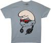 Image Closeup for Smurfs Headphones T-Shirt