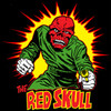 Image Closeup for The Red Skull T-Shirt - Running