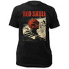Image Closeup for The Red Skull T-Shirt - Classic Infantry