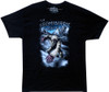 Image Closeup for The Abominable Snowman T-Shirt