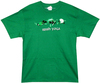 Image Closeup for Irish Yoga T-Shirt
