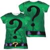 Image for Batman Girls T-Shirt - Sublimated Riddler Uniform