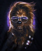Image Closeup for Star Wars T-Shirt - Chewie Shades