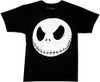 Image Closeup for The Nightmare Before Christmas Jack Head T-Shirt