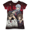Front image for Vampire Knight Girls Sublimated T-Shirt - Academy Trio