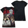 Image for Vampire Knight Girls Sublimated T-Shirt - Academy Trio Black Back