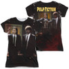 Image for Pulp Fiction Girls Sublimated T-Shirt - Vincent and Jules