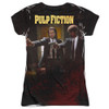 Back image for Pulp Fiction Girls Sublimated T-Shirt - Vincent and Jules
