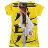 Back image for Kill Bill Girls Sublimated T-Shirt - Poster