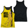 Image for Kill Bill Sublimated Tank Top - Poster  Black Back