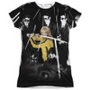 Front image for Kill Bill Girls Sublimated T-Shirt - Crazy 88s