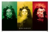 Image for Bob Marley Poster - Smoke 3 Pictures