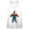 Image for Street Fighter Ryu Juniors Racerback Tank Top