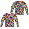Image for Mighty Morphin Power Rangers Sublimated Long Sleeve - Crowd of Rangers