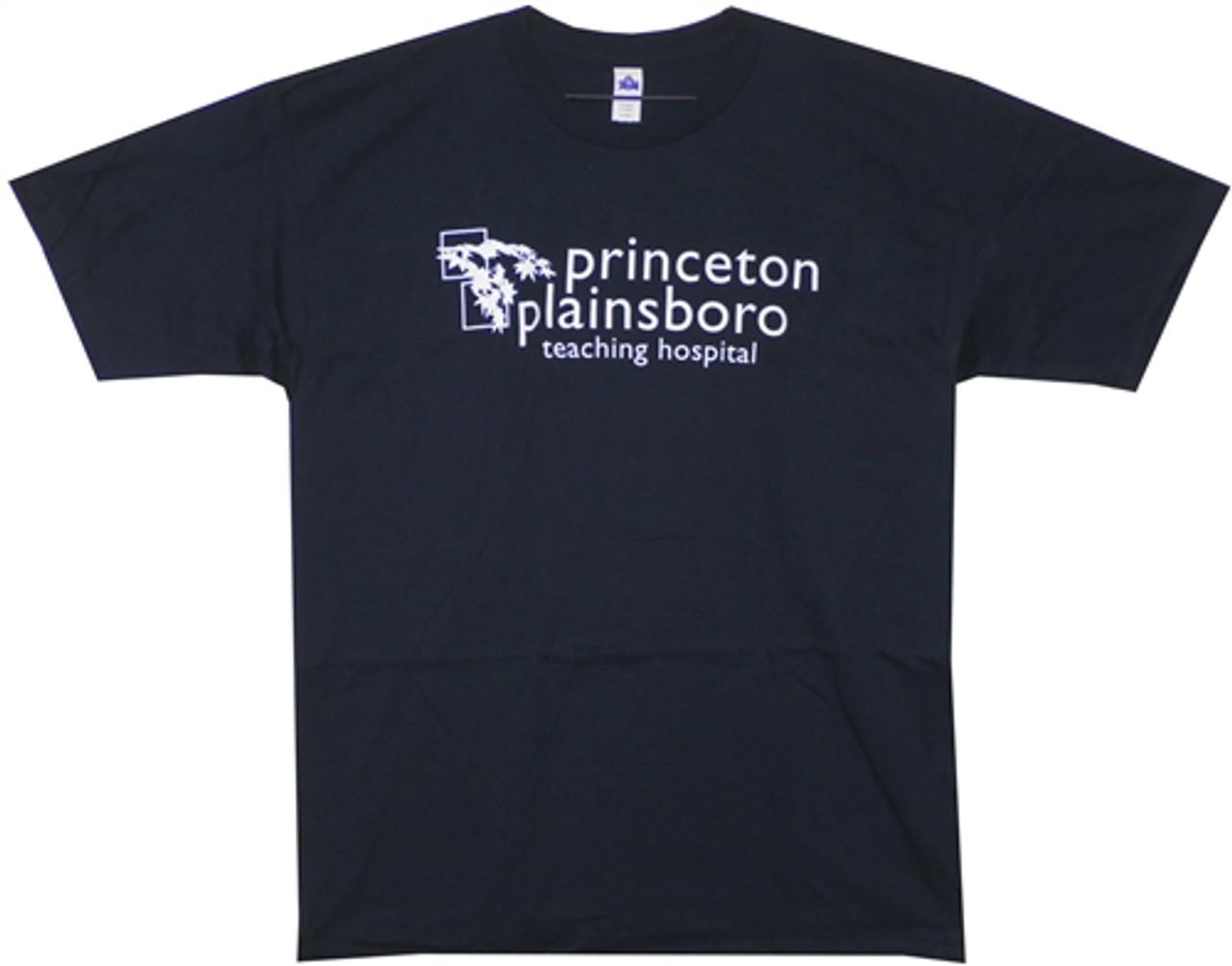 House TV Show PRINCETON PLAINSBORO Teaching Hospital T-Shirt All Sizes