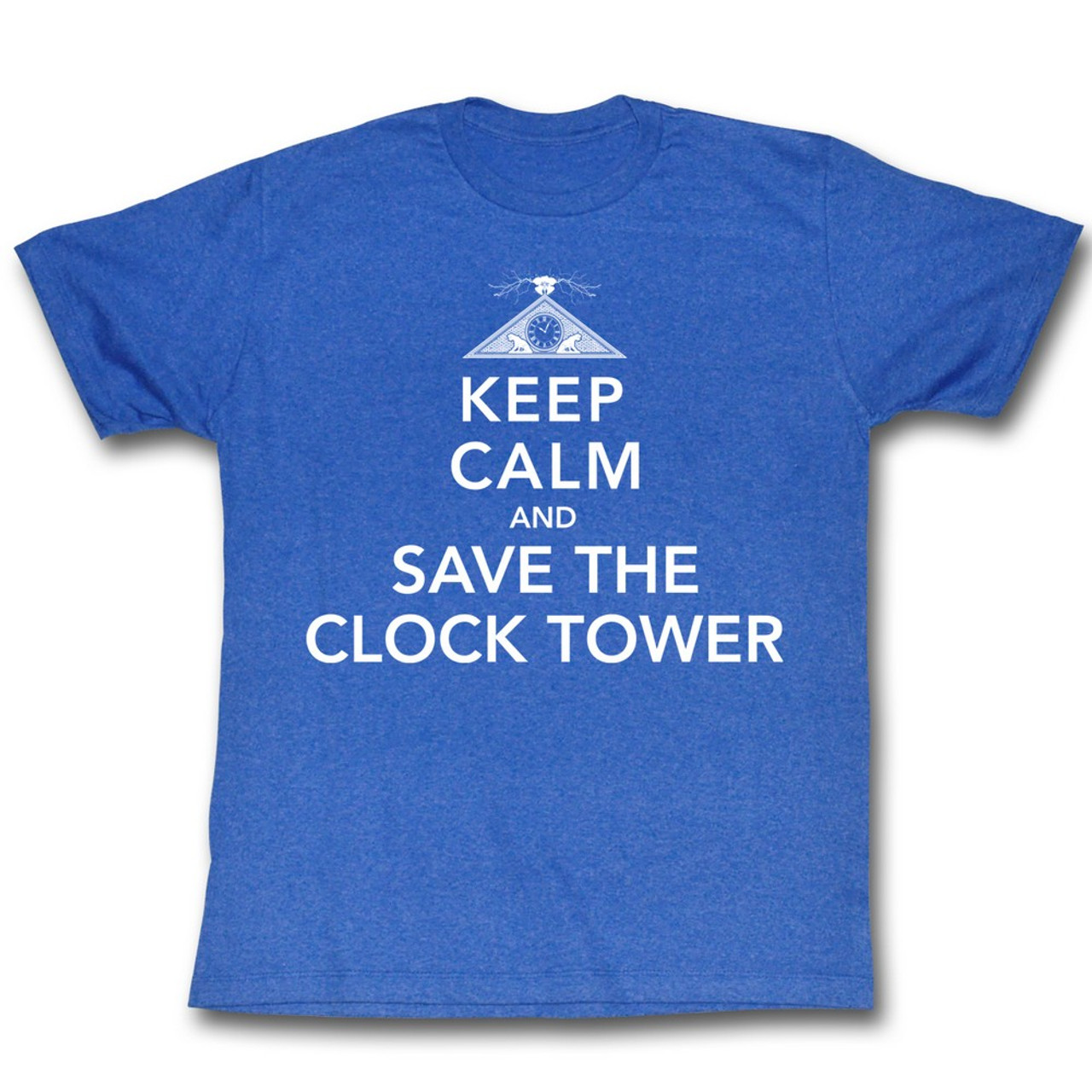 S-XXL Officially Licensed Back To The Future Save The Clock Tower Sweatshirt