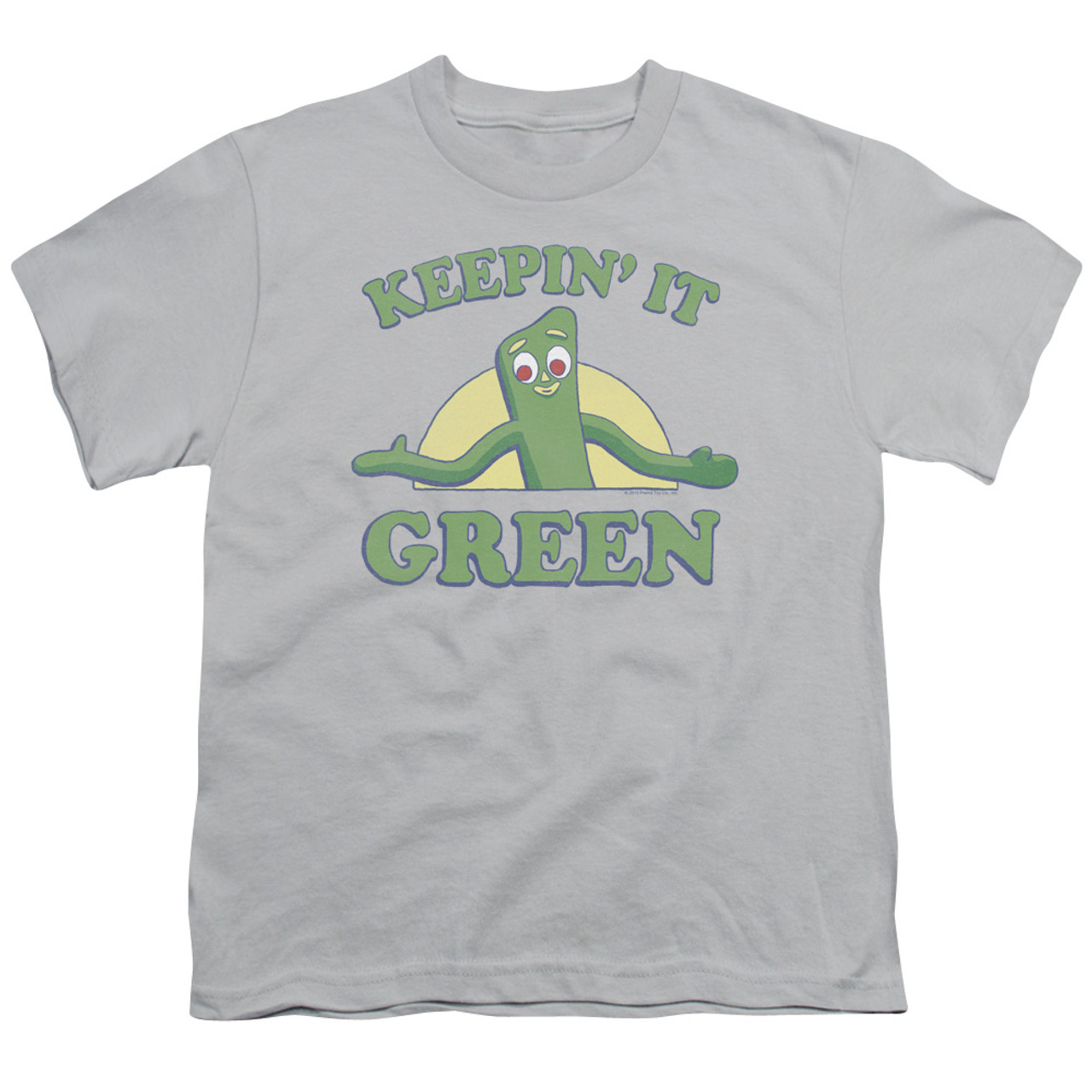 Gumby THAT/'S A STRETCH Licensed Women/'s T-Shirt All Sizes