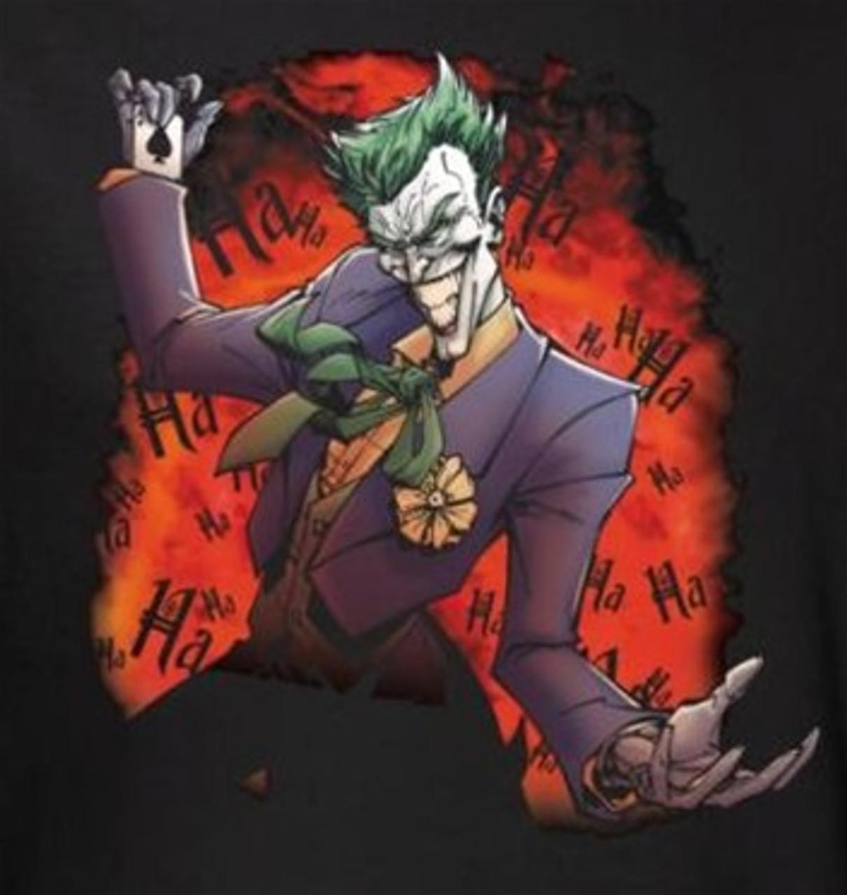 Running The Asylum Adult Work Shirt Batman Aa