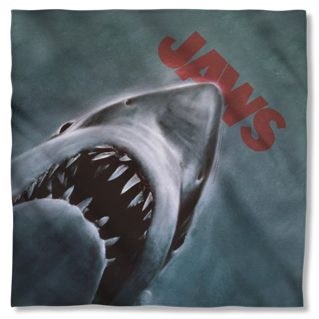 Jaws Movie POSTER 2-Sided Sublimated All Over Print Poly Tank Top