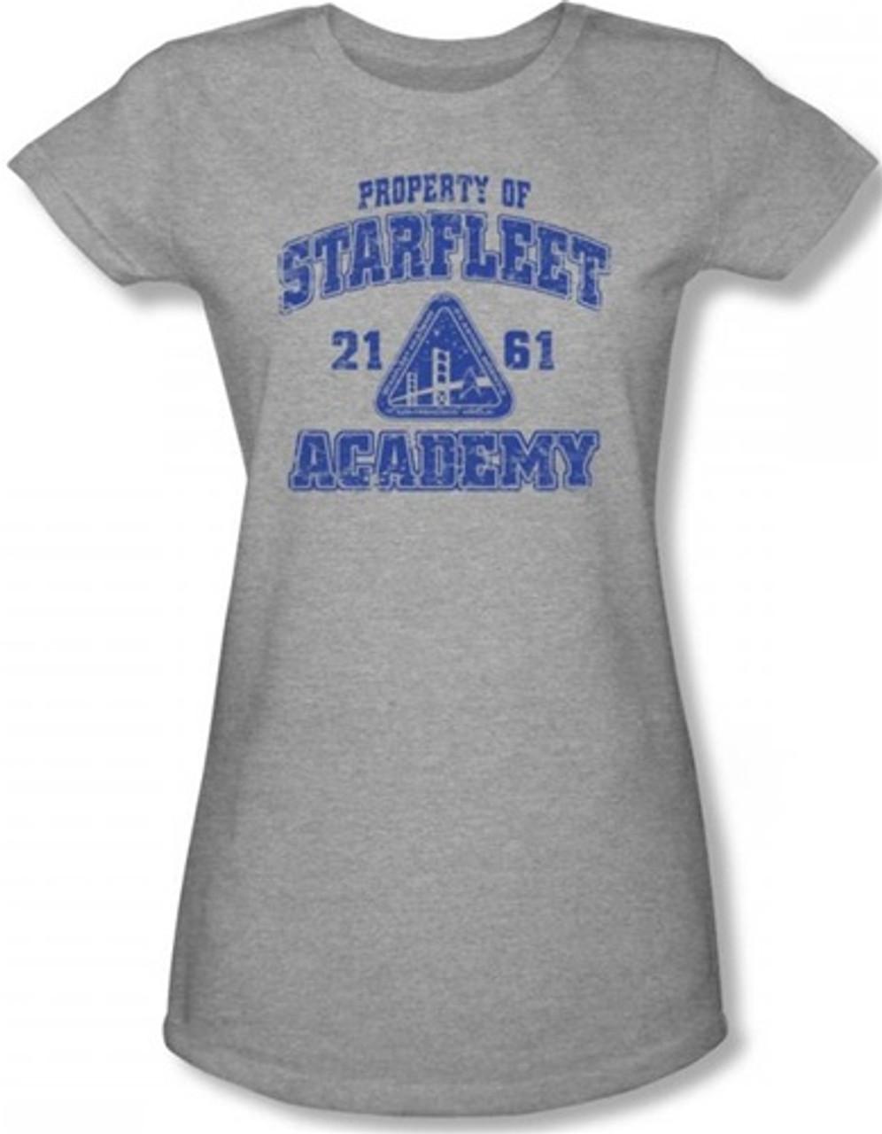 Star Trek Starfleet Academy San Francisco Juniors Cap Sleeve T-Shirt