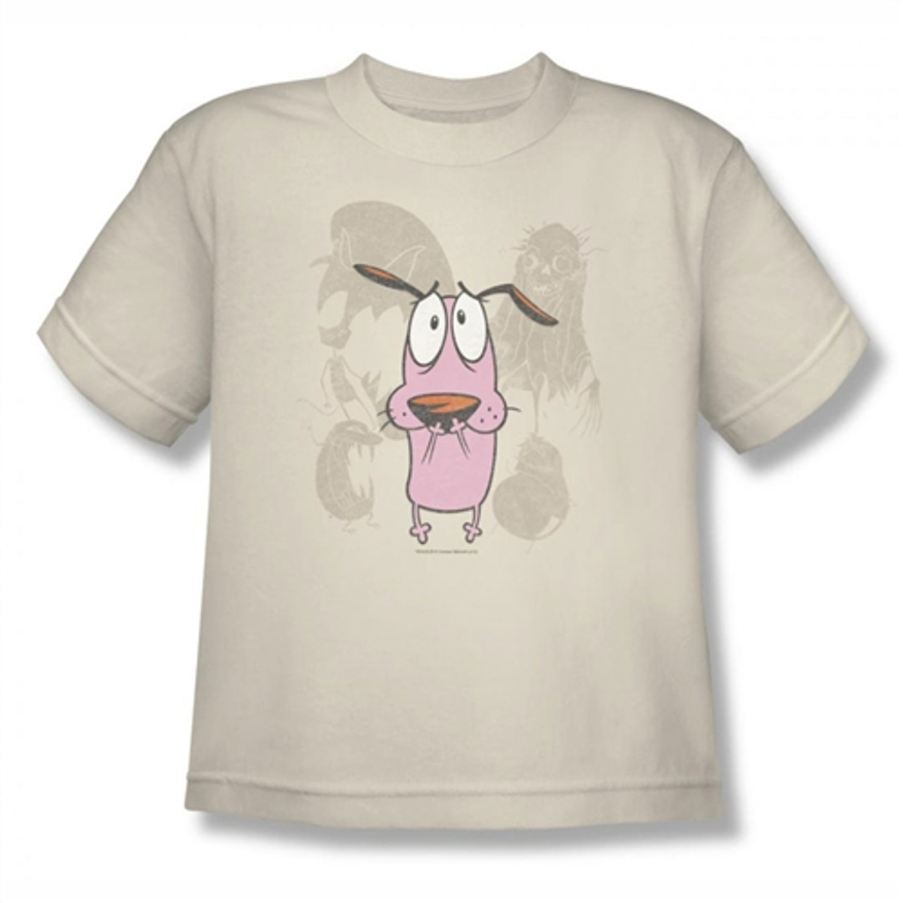 Courage The Cowardly Dog Running Scared Youth T-shirt