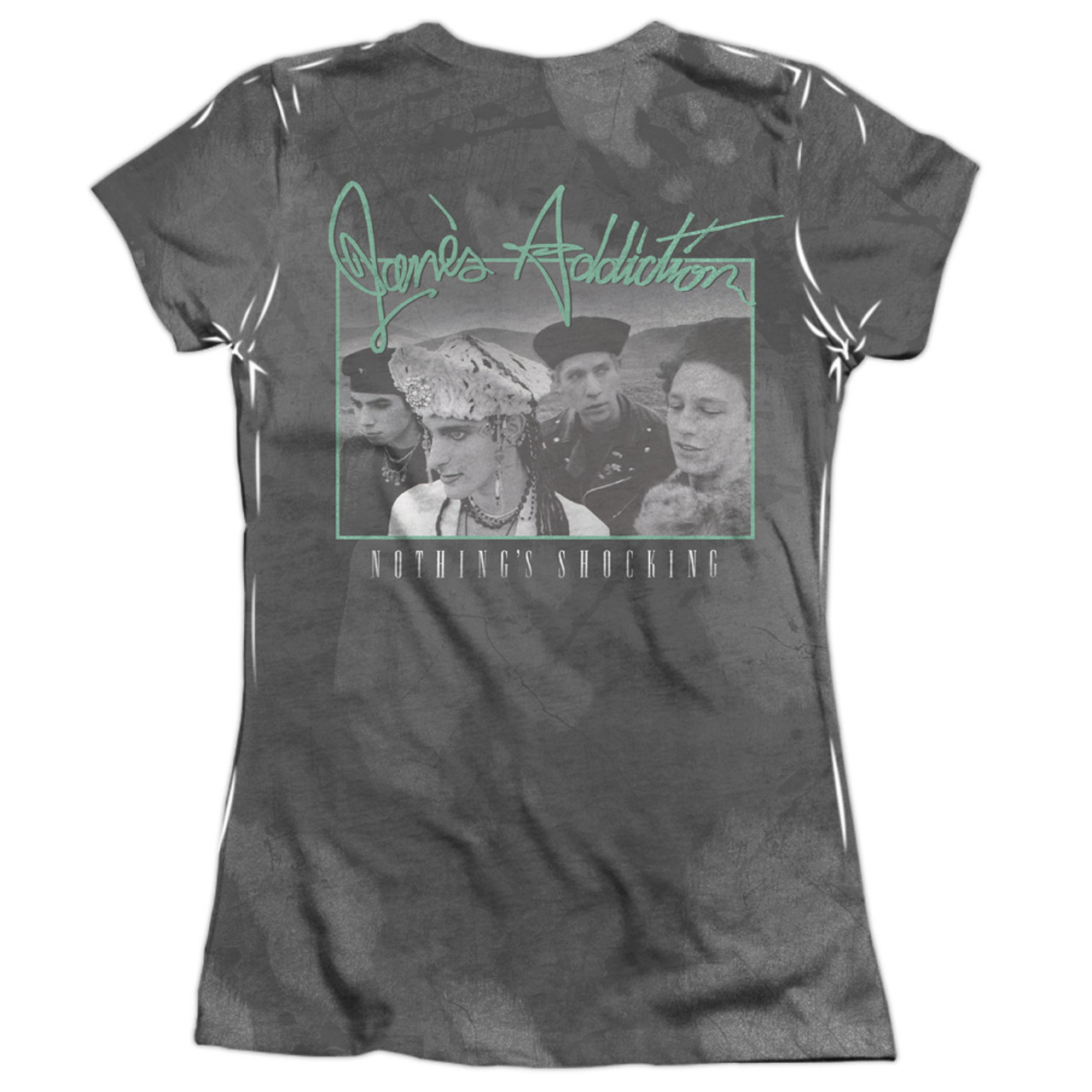 Janes Addiction Men/'s  Nothing/'s Shocking T-shirt Black