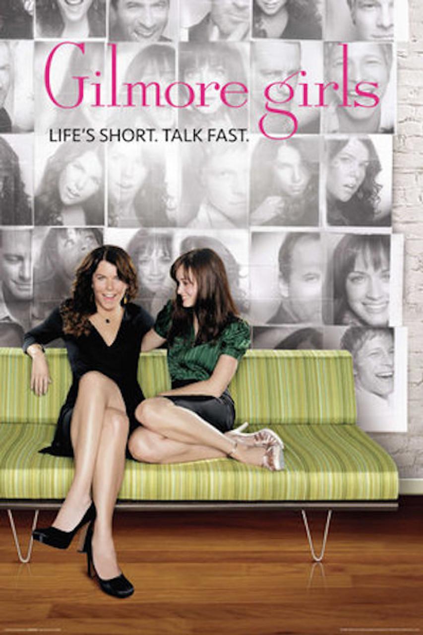 Gilmore Girls Poster - Life's Short. Talk Fast - NerdKungFu