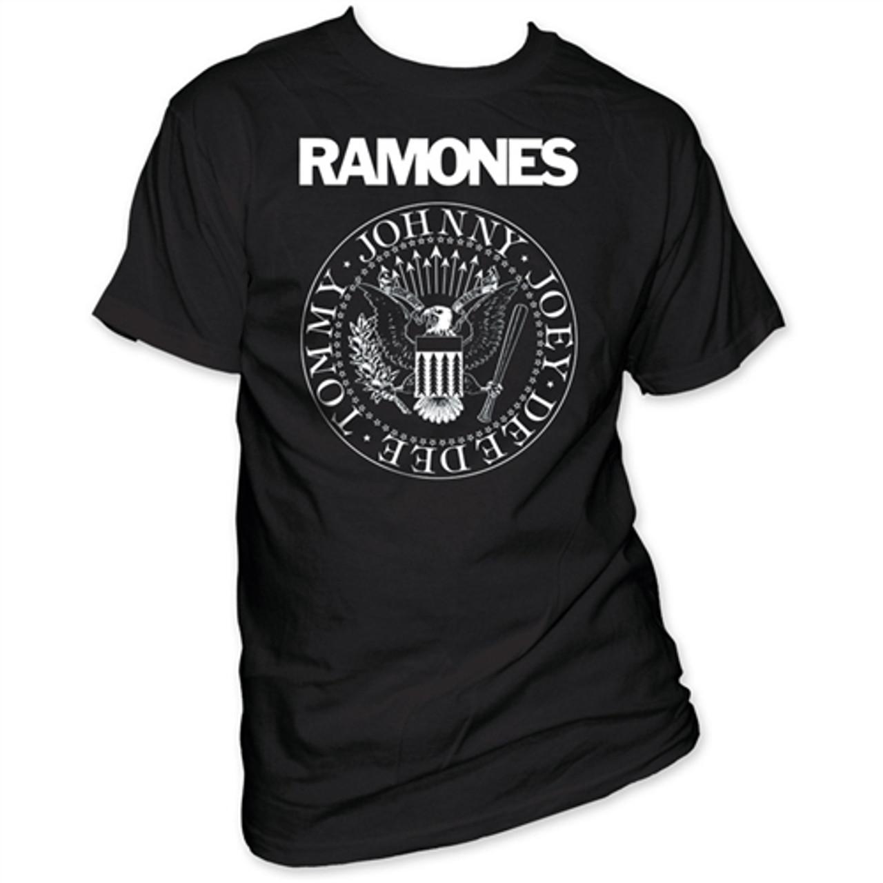 Official Ramones Presidential Seal Unisex Hoodie  CBGB Hey Tour Rock Retro Eagle