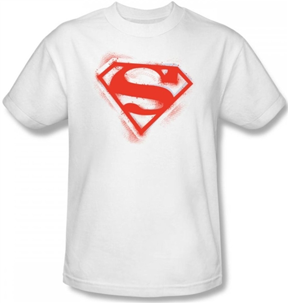 JUSTICE LEAGUE SUPERMAN BODY SHIRT SIZE 4 5 6 NEW!