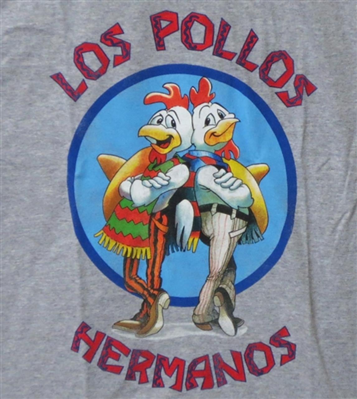 Breaking Bad Los Pollos Hermanos Logo Patch 3 1//2  inches wide