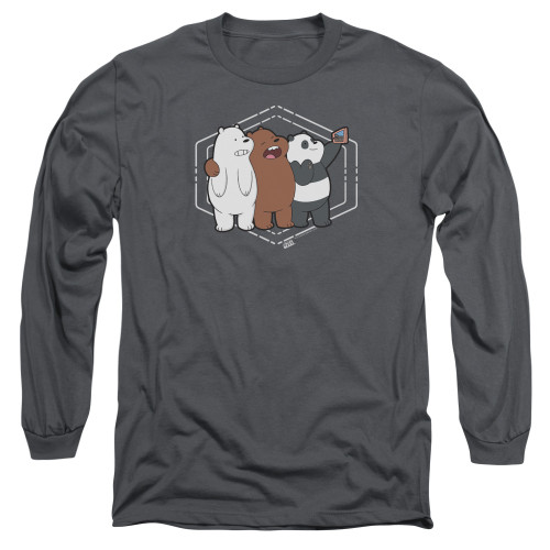 Image for We Bare Bears Long Sleeve Shirt - Selfie