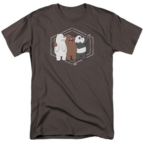 Image for We Bare Bears T-Shirt - Selfie