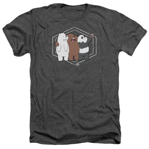 Image for We Bare Bears Heather T-Shirt - Selfie